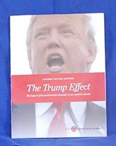 Cover of special report by 'Teaching Tolerance' on Presidential Primary Civics in the Classroom